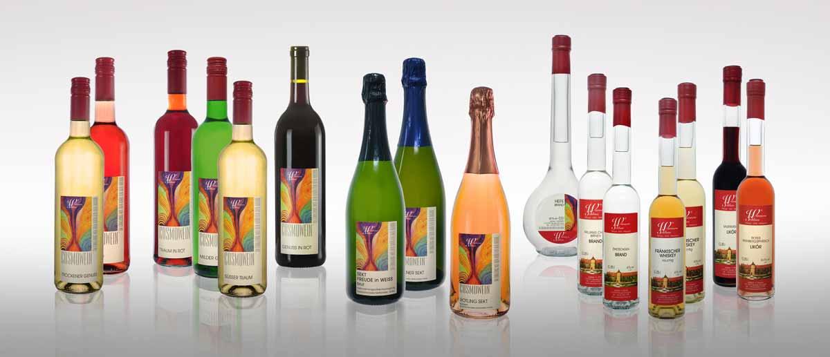 Cosmowein vom Weingut Wörner - eine Weinvielfalt, die auch Ihren Geschmack trifft.
