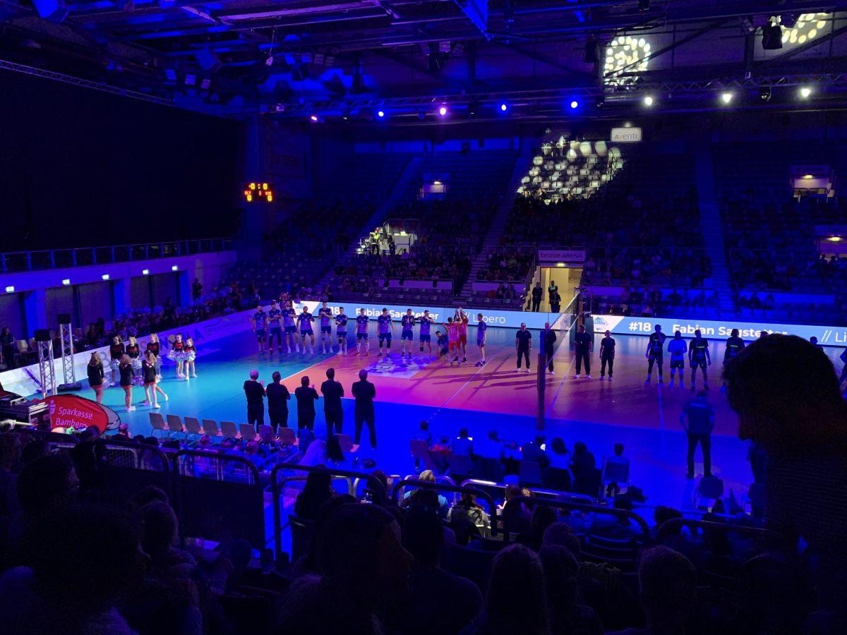 Familientag beim letzten Volleyball Heimspiel 2019