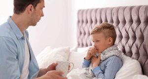 Behandlungsmethoden: Kinder leiden besonders oft unter Husten. Heilkräuter und Inhalation können die Beschwerden sanft lindern. Foto: djd/Hermes Arzneimittel/Shutterstock/New Africa