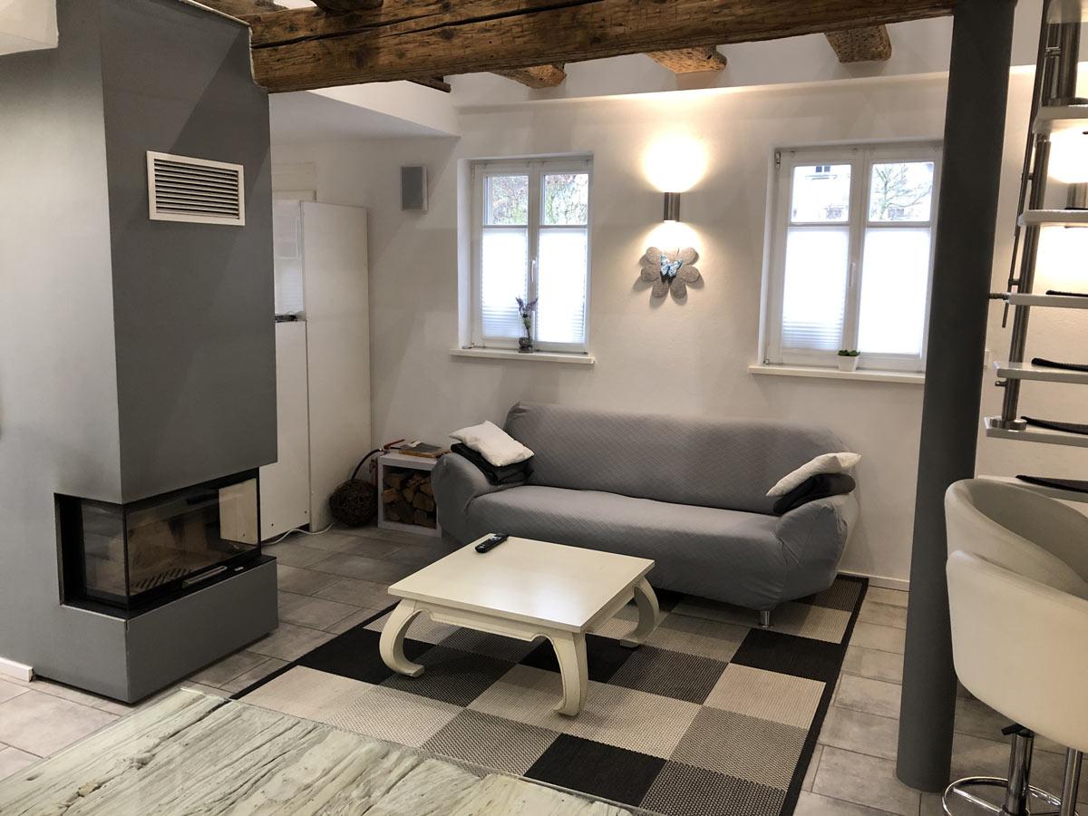 Haußgautor Wohnzimmer