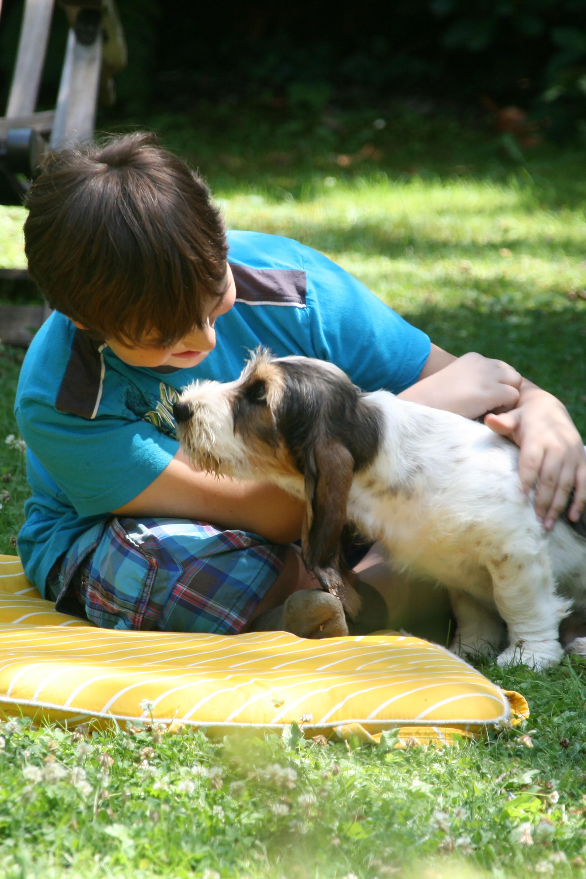 Natürlicher Zeckenschutz: Hundehalter, die Kinder haben, legen besonderen Wert auf natürliche Präparate.