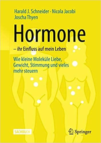 """Buchcover: """"Hormone - ihr Einfluss auf mein Leben"""""""