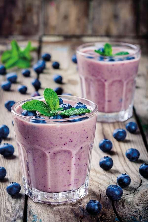 Immun-Power: Basische Rezepte funktionieren auch mit vitaminreichen TK-Früchten, etwa Heidelbeeren.